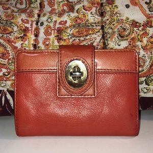 COACH💥Legacy Leather Turnlock Bifold Walllet